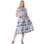 Платье Соланж №2 г63 вискоза цвет молочный