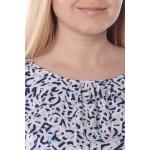 Блузка Саманта №6 г68 вискоза цвет синий