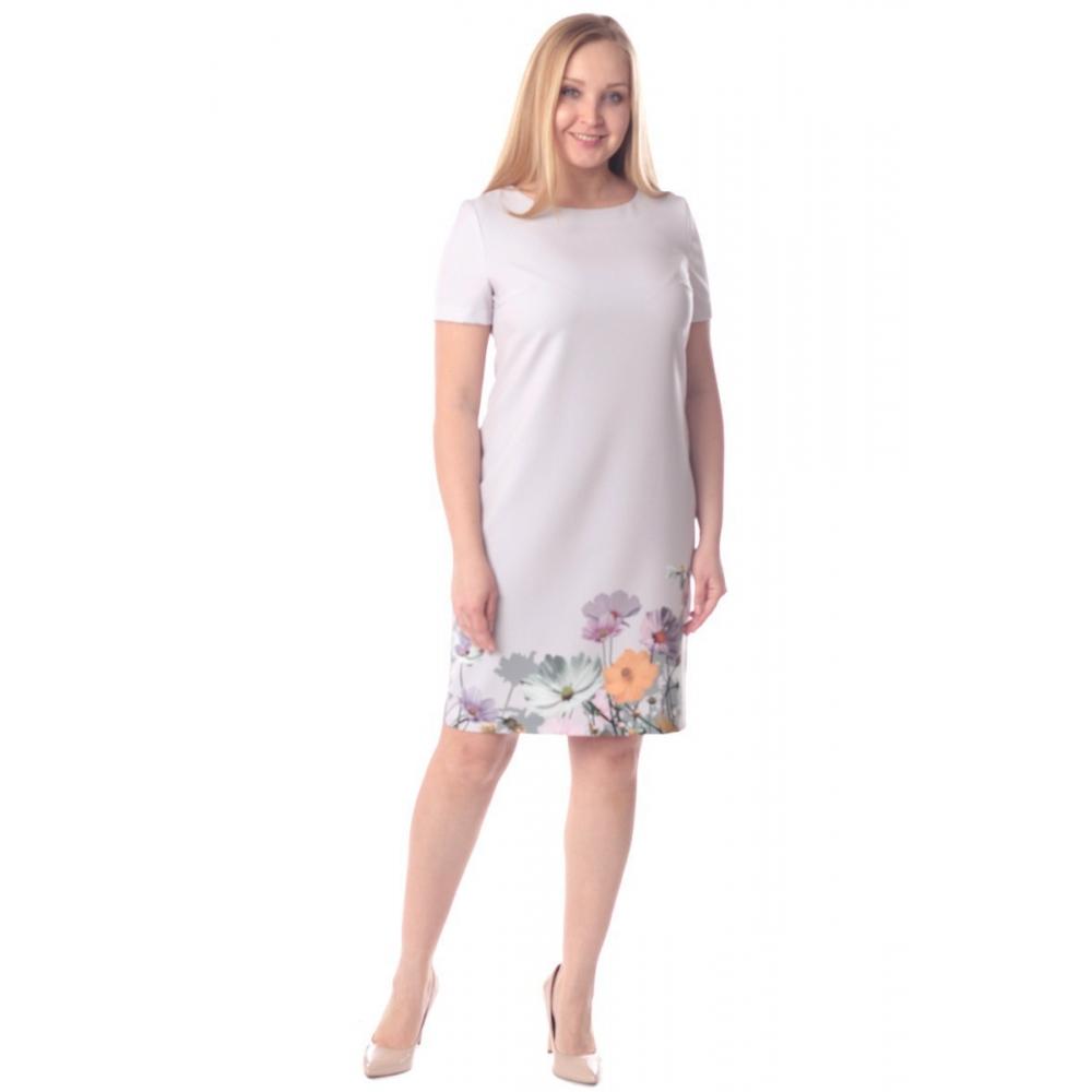 Платье Пенелопа г71 вискоза цвет пудра