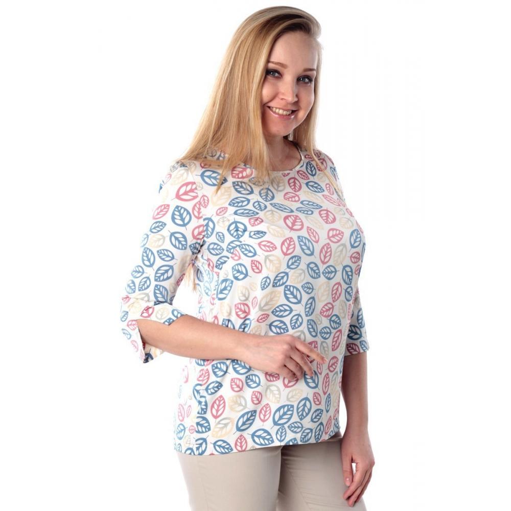 Блузка ЗЛАТА №3 г51 вискоза цвет молочный