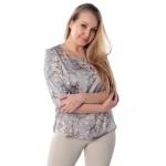 Блуза ДЖИНА №3 г52 вискоза цвет серый