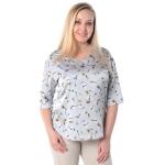Блузка АДЭЛИНА г54 вискоза цвет серый