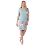 Платье Пенелопа№2 бб33 вискоза цвет ментол
