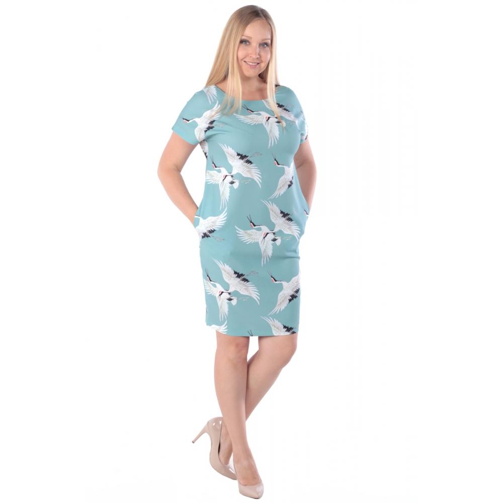 Платье ЛАРА №2 бб36 вискоза цвет мята