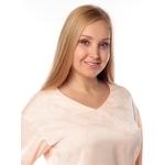Блузка ЭТЕЛЬ а15 вискоза цвет персик
