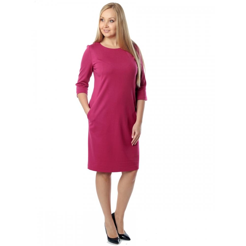 Платье РОНА а22 вискоза цвет вишневый