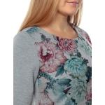 Платье АЛИСИЯ  в67 вискоза цвет серый
