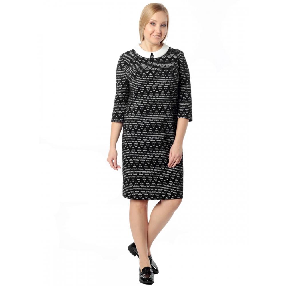 Платье КАРЕН в74 вискоза цвет черный
