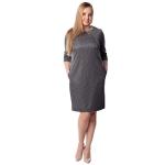 Платье Марлен г09 вискоза цвет серый