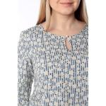 Блузка Ария №2 г27 вискоза цвет синий