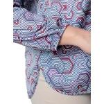 Блуза ДЖИНА №2 г32 вискоза цвет красный