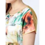 Блузка Лилиан б56 вискоза цвет мультиколор