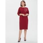 JADO Платье 220-02-04 бордовый