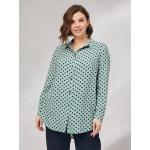 JADO Блуза 121-01-03 зеленый