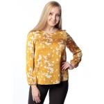 Блуза ДЖИНА с51 вискоза цвет желтый