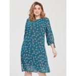JADO Платье 121-02-02 бирюзовый