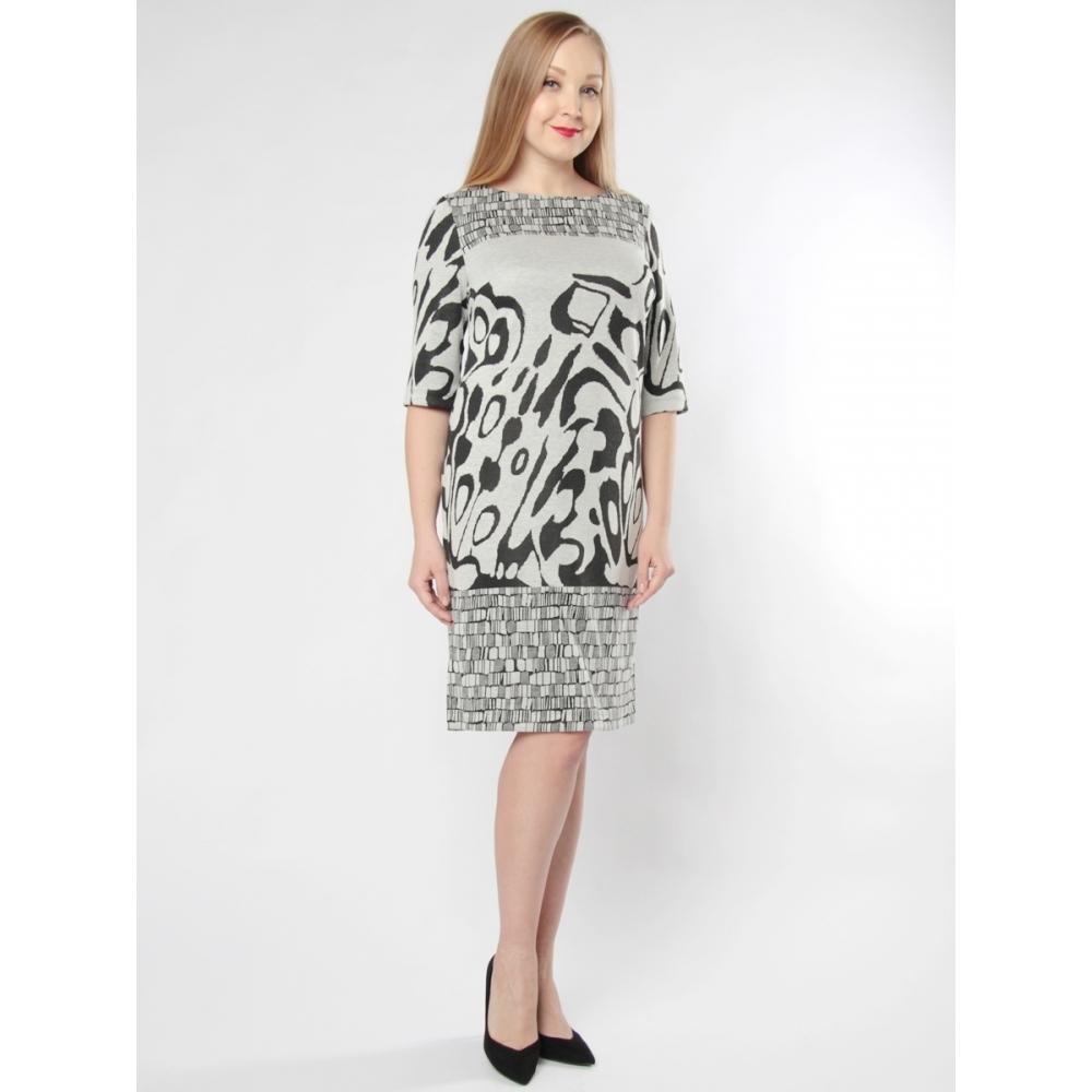 Платье Патриция вискоза цвет серый