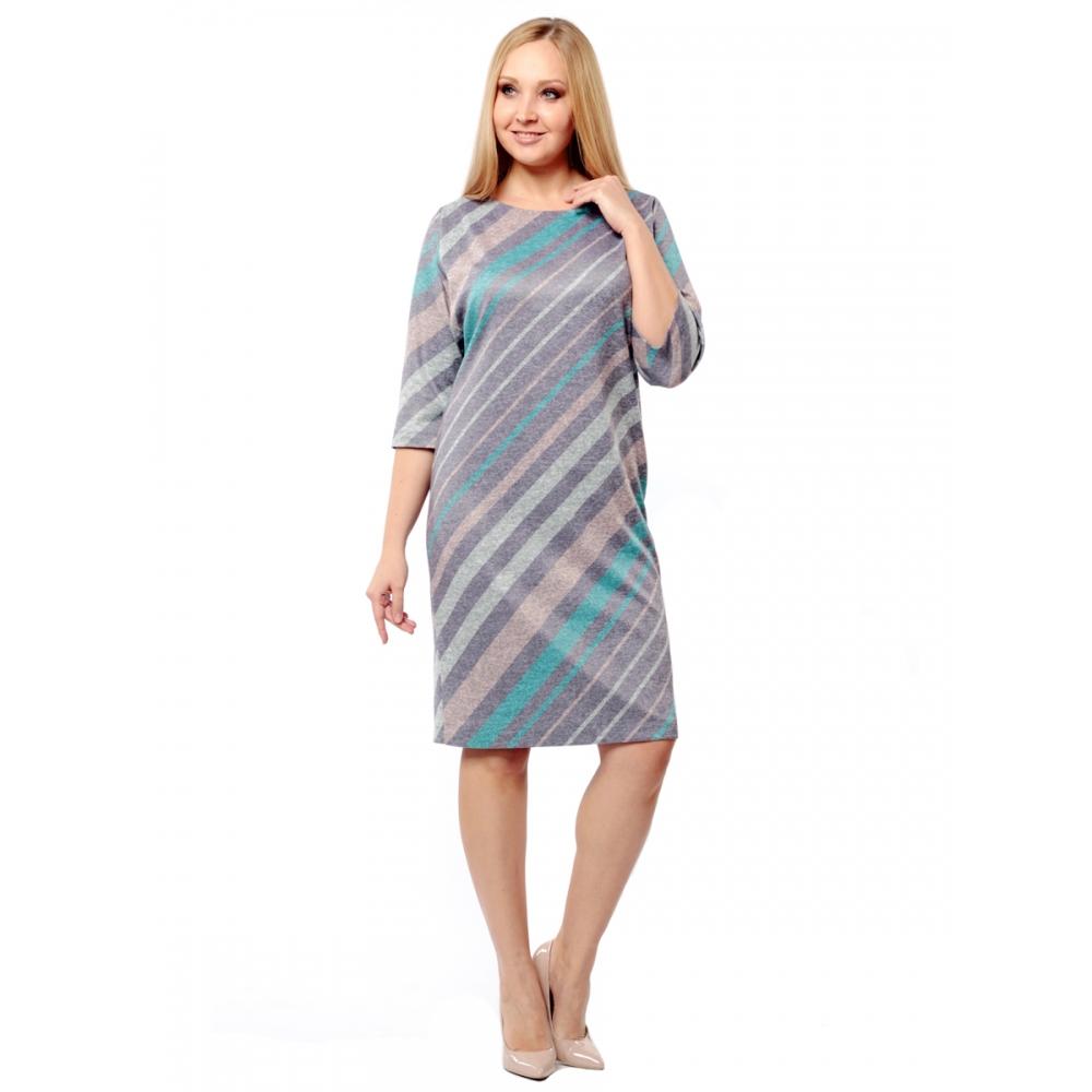 Платье ЭМИЛИ в50 вискоза цвет серый