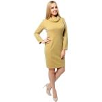 Платье Юна а67 вискоза цвет желтый