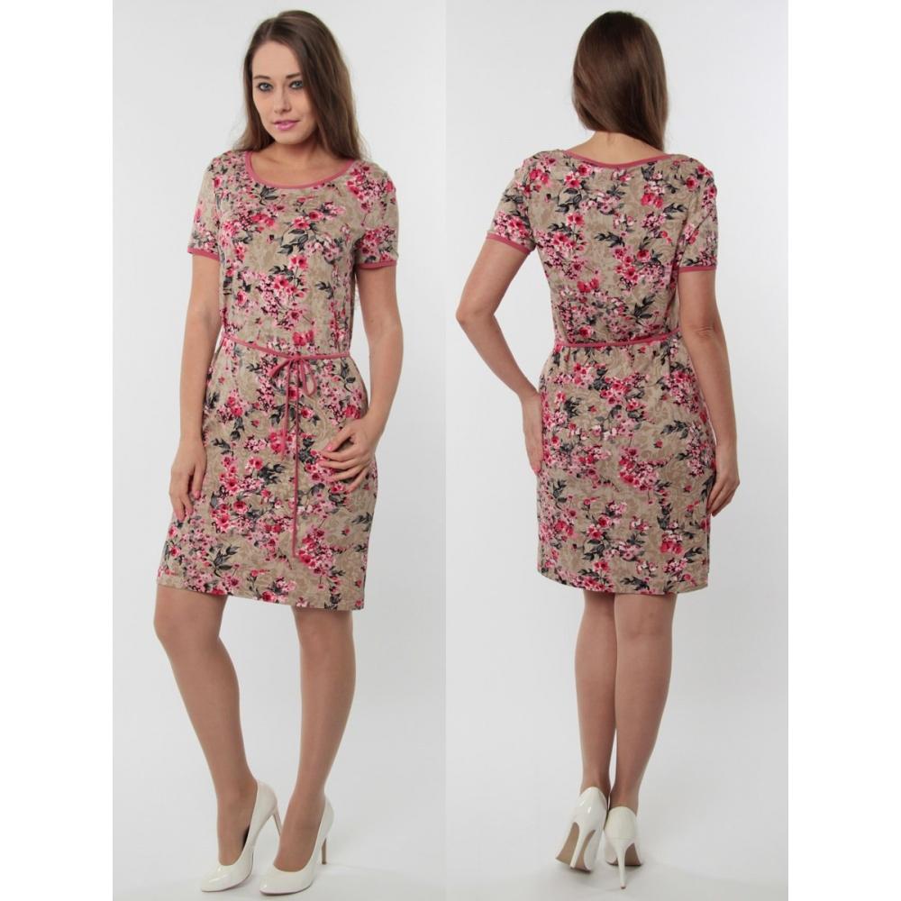 Платье Нора №5 вискоза цвет мультиколор