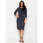 JADO Платье 221-02-02 синий
