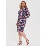 JADO Платье 220-02-09 серое