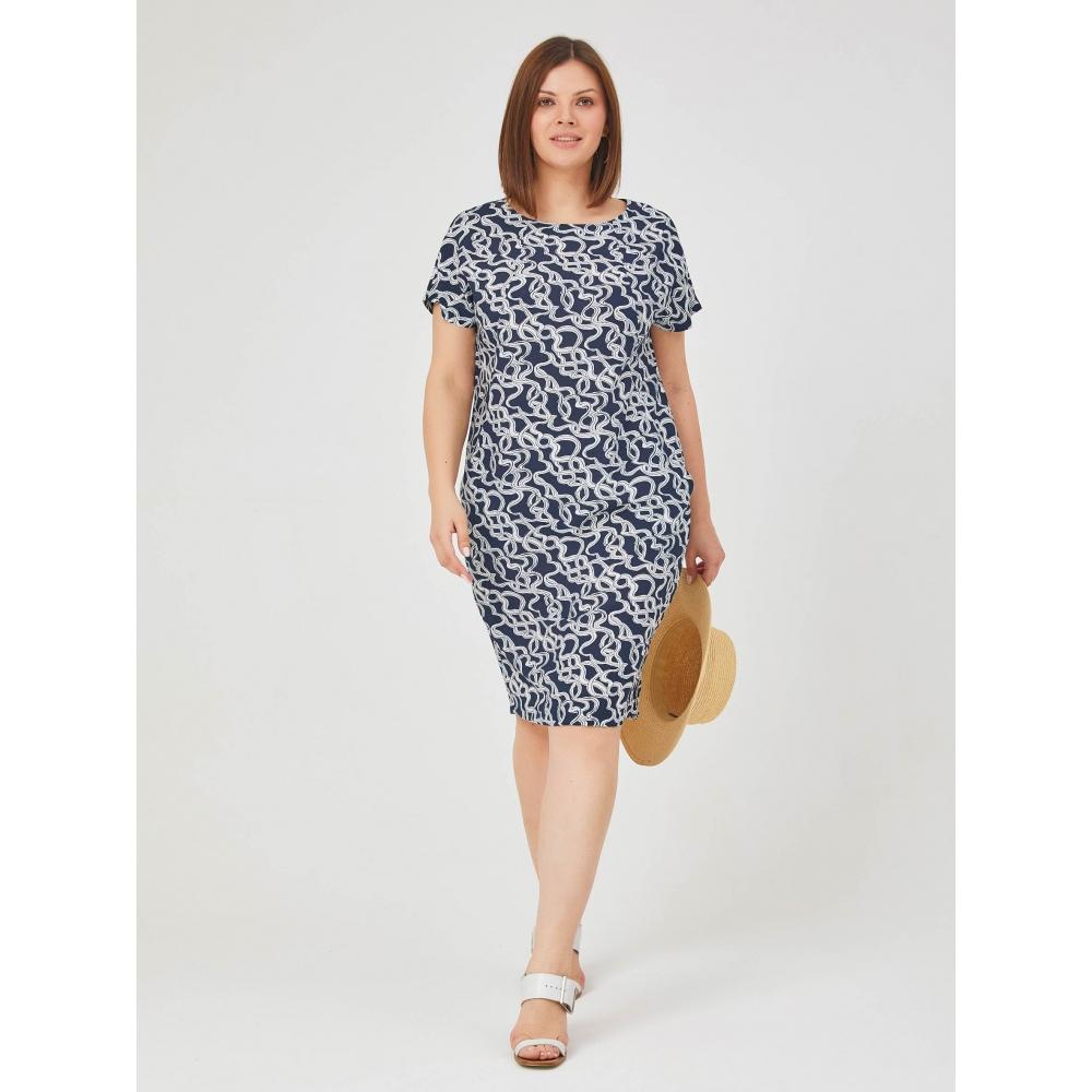 JADO Платье 121-02-05 синий