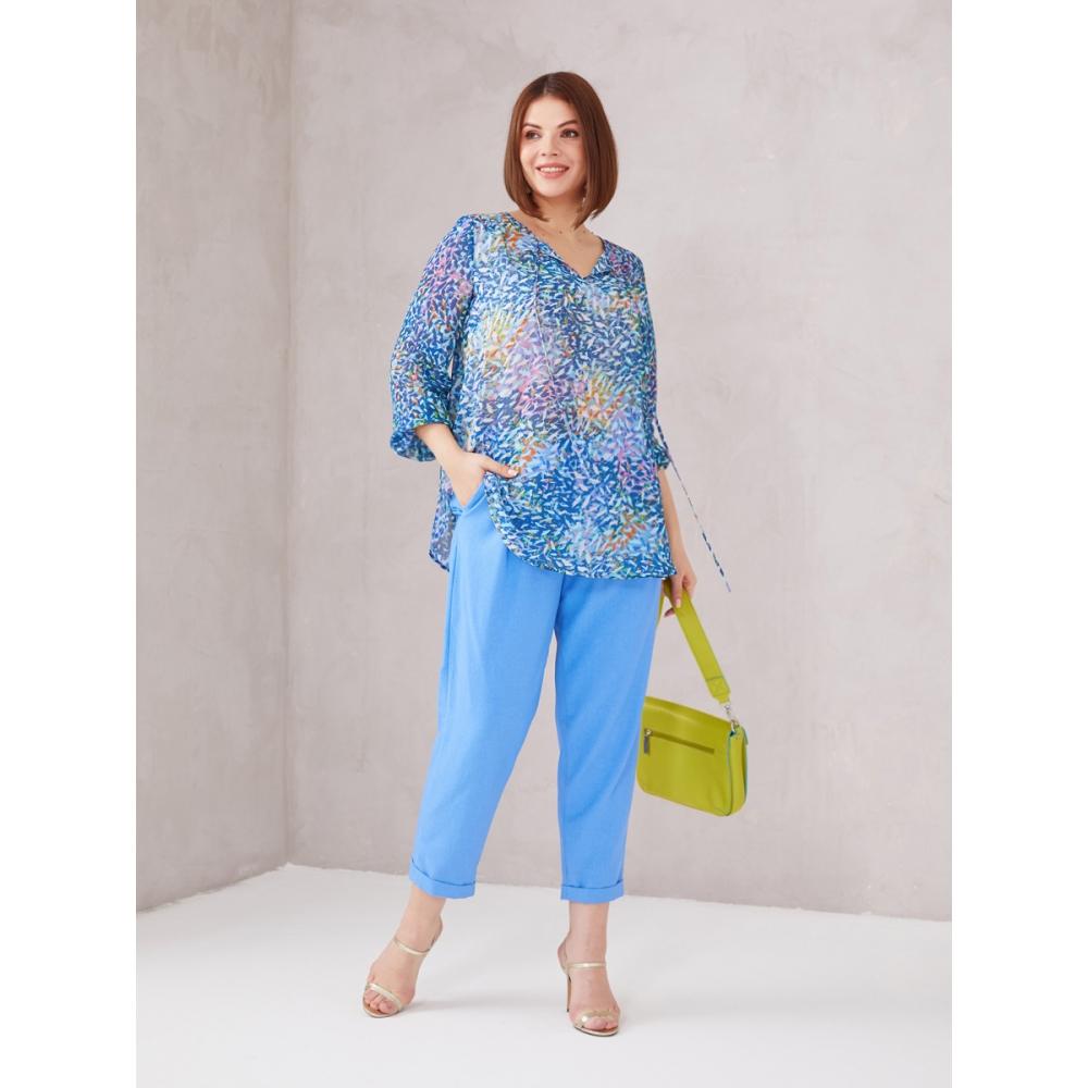 JADO Блуза 121-01-01 синий