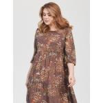 JADO Платье 121-02-01 коричневый